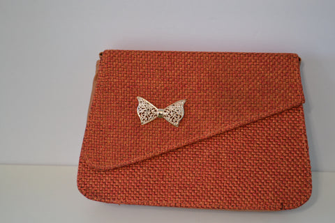 Jute Clutch Purse Available in 2 Sizes