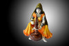 Orange Polyresin Rajasthani Lady Showpiece