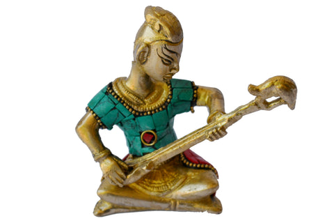 Metal-Sculpture-Tribal-Music-Band-Brass-Art - My Aashis