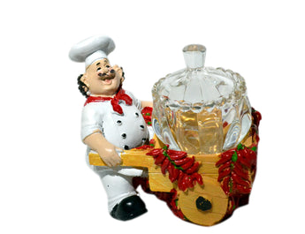Chef Kitchen Glass Jar Holder - My Aashis