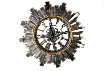 Modern Wall Clock, Battery Operated Quartz Movement Wall Clocks - My Aashis