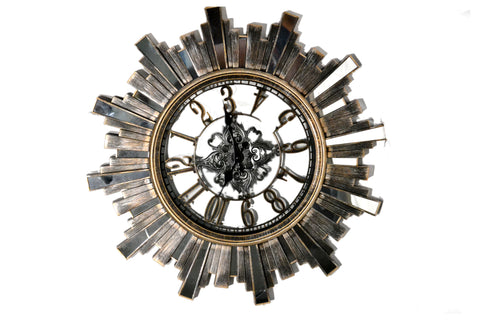 Modern Wall Clock, Battery Operated Quartz Movement Wall Clocks