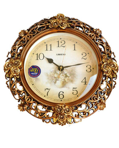 European Style Retro Art Swing Wall Clock - My Aashis