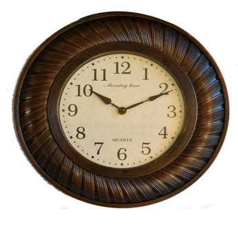 Set of Three Wall Mirror and Wall Clock - My Aashis