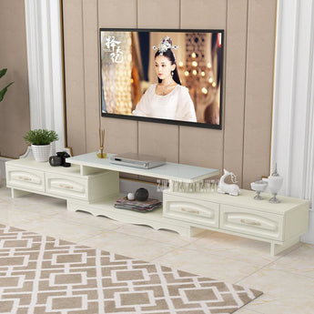 Elegant Panel Wood Crafted Media Cabinet - My Aashis