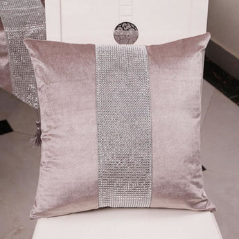 Partywear Decorative Shiny Pillow Cover
