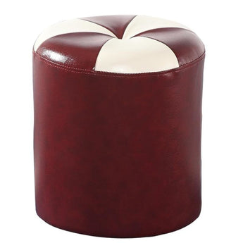 Ever Style Round Leather Stool - My Aashis