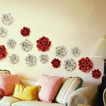 Glossy Wall Art Flower For Decoration - My Aashis