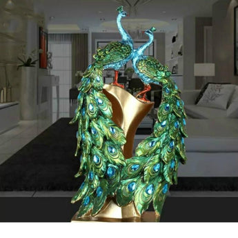 Captivating Peacock Home Decor Accessories - My Aashis