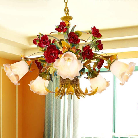 European Flower Design Living Room Chandeliers - My Aashis