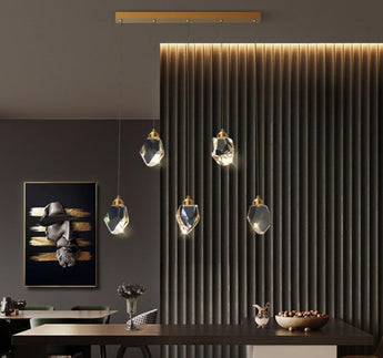 Modern Copper Hanging Pendant Lamp - My Aashis