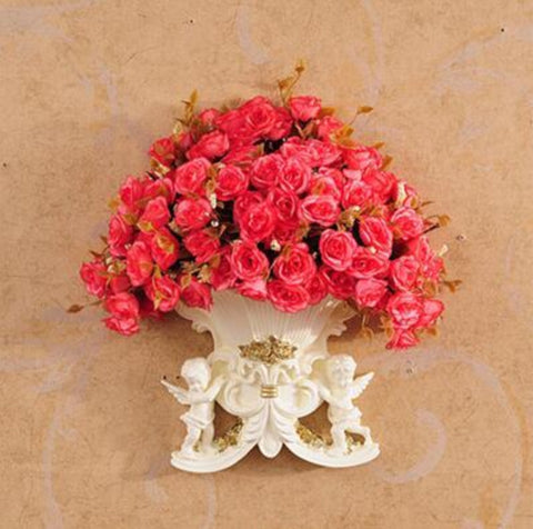 Baskets Flower Pots For Wall Decoration - My Aashis