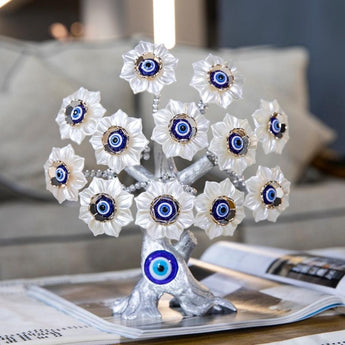 Attractive Blue Evil Eye Flower Tree - My Aashis