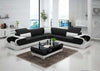 Urban Style Luxurious Leather Sectional Sofa Set - My Aashis