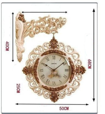 Light Luxury Unique Hanging Wall Clock - My Aashis