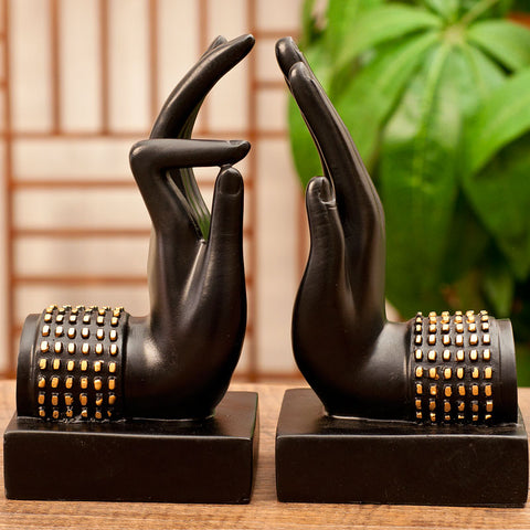 Book Holder Buddha Hand Blessing Sculpture