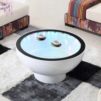 New  Creative Round  Tea Table  For Home Furniture - My Aashis
