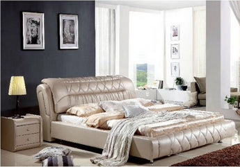 Royal Genuine Leather Soft Bed