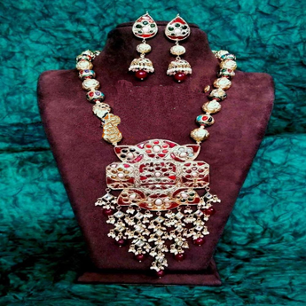 Beautiful Multicolor Necklace Set - My Aashis