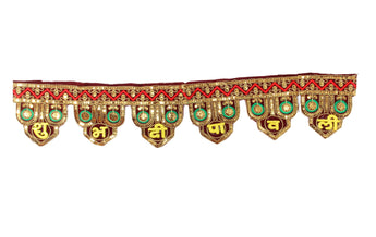 TiedRibbons Tied Ribbons Door Hanging Krishna Bandanwar Toran Diwali Decoration Item for Home Door Wall - My Aashis