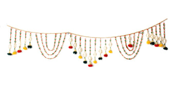Handicraft Door Hanging Toran Window Valance Home Décor Interior Pooja bandanwaar Diwali Gift - My Aashis