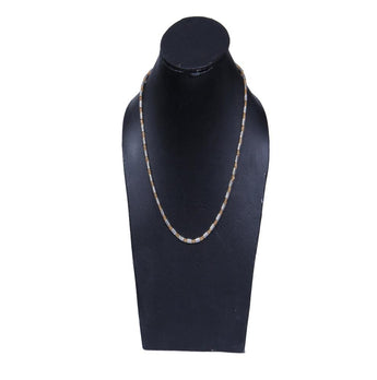 Chain  Gold and Silver Over Semi-Precious Metals, Pendant Necklace Made Thin For Charms, Strong, Comes in Box or Pouch for Easy Gift Giving - My Aashis