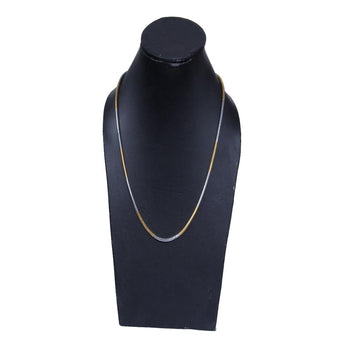 Chain  Gold Over Semi-Precious Metals, Pendant Necklace Made Thin For Charms, Strong, Comes in Box or Pouch for Easy Gift Giving - My Aashis