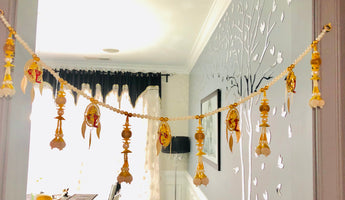 Contemporary Indian Door Valence/Toran/Bandhanwar - My Aashis