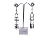 Silver-Tone Antique Metal Danglers & Drop