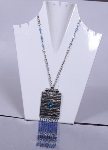 Attractive Square Shaped Beaded Necklace - My Aashis
