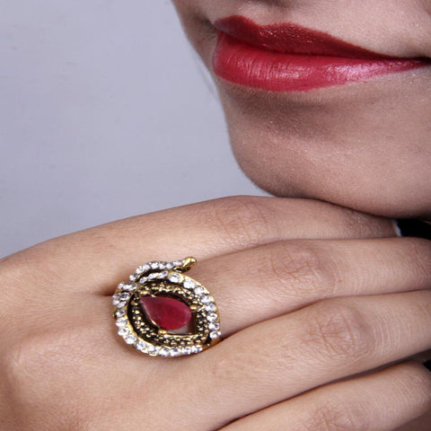 Classic and Exclusive Designed Zircon Ring - My Aashis
