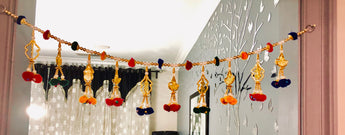Handicraft Door Hanging Toran Window Home Décor bandanwaar Diwali Gift - My Aashis