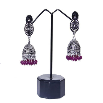 Beautiful Pair of Traditional Jhumka Earrings For Women and Girls - My Aashis