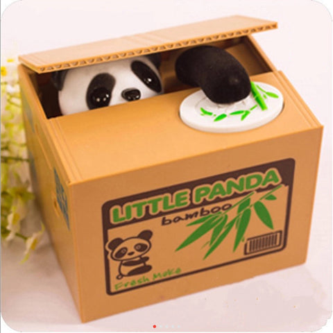 Novelty Panda Coin Bank - My Aashis