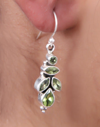 Pure Silver Fashion Dangle Hook Earrings Jewelry Gift For Her