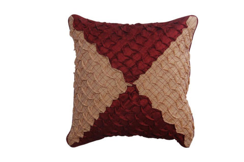 Set of 5 Coffee and Brown Colored Cushion Cover