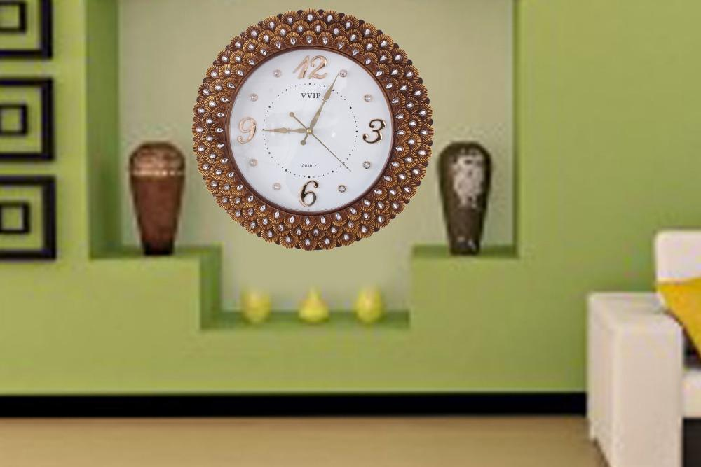 European Style Wall Clock / Living Room Mute Decorative Wall Clock Retro  Creative Fashion Art ...