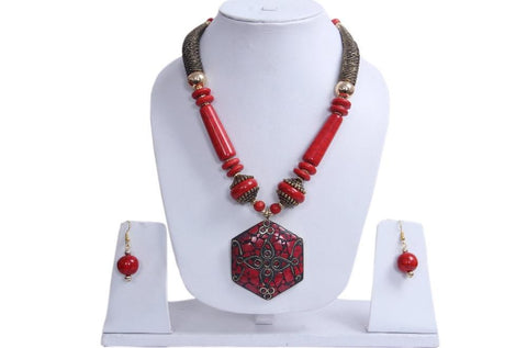 Beautiful Combo of Multicolor Gold Plated Necklace Set - My Aashis