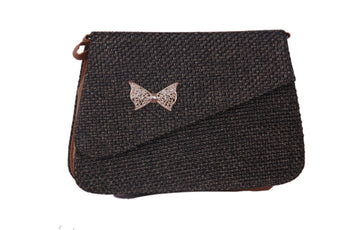 Jute Clutch Purse Available in 2 Sizes - My Aashis