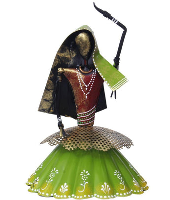 Dancing Ladies Iron Handmade Showpiece - My Aashis