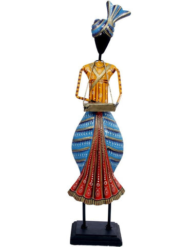 Colourful Punjabi Cultural Music Dolls Showpiece - My Aashis