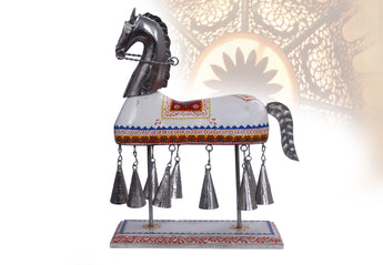 Decostyle Horse With Bells