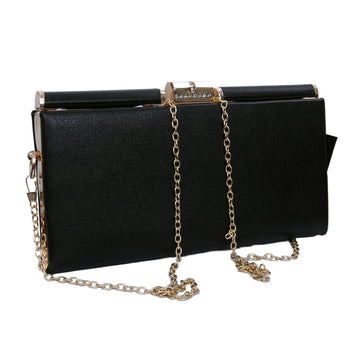 Women Evening Faux Leather Clutch Bags - My Aashis