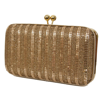 Golden Sequin Clutch Purse/ Party Purse - My Aashis