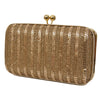 Golden Sequin Clutch Purse/ Party Purse