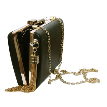 Women's Box Shoulder Bag/ Clutch Bag