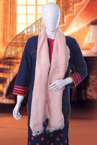Bedazzle Pink Scarf - My Aashis