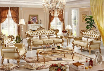 Luxurious Italian Furniture Classic Sofa Set-My Aashis