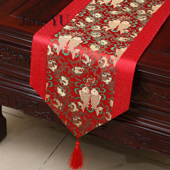 Creative Chinese Theme Tablecloth Table Runner - My Aashis