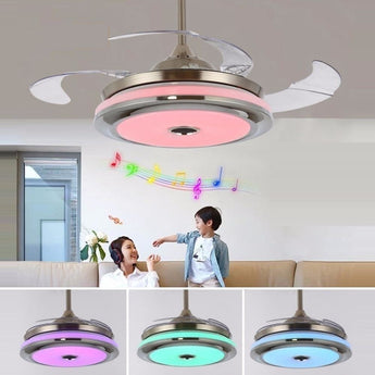 Magical Bluetooth & Musical Fan Chandelier - My Aashis